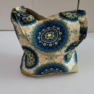 Handmade tote Book bag